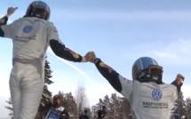 PREMIERE VICTOIRE OFFICIELLE POUR LA POLO WRC D'OGIER