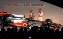 F1 : Présentation de la nouvelle McLaren Mp 25 (2010)