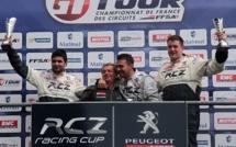 Peugeot RCZ Cup : Le Mans, premier succès pour TB2S