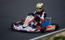 Karting : Pierre Loubere 3e du championnat de France KZ125