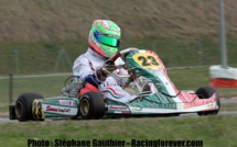 Karting : Un podium pour marquer les débuts de Jérémy Lopes en KZ2