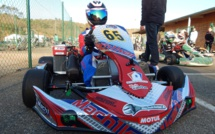 Karting : Lorys Chastanet poursuit sa route en Nationale