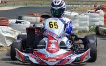 Karting National : Lorys Chastanet Comiti sur le podium du Régional Languedoc Roussillon
