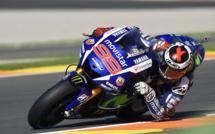 MotoGp : Valencia, Lorenzo en tête de la première journée