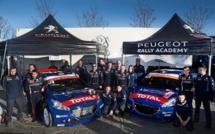 WRC : Peugeot Rally Academy au Monté-Carlo