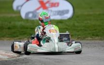 Karting KZ : Jérémy Lopes sur le podium du Val d'Argenton
