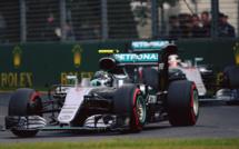 F1 : GP d'Australie, victoire de Rosberg
