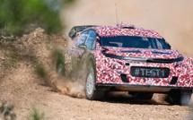 WRC : Citroën Racing effectue les premiers essais de sa WRC 2017