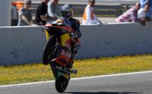 Moto3 : La baraka pour Brad Binder