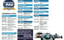 75e Grand prix de Pau : Les horaires